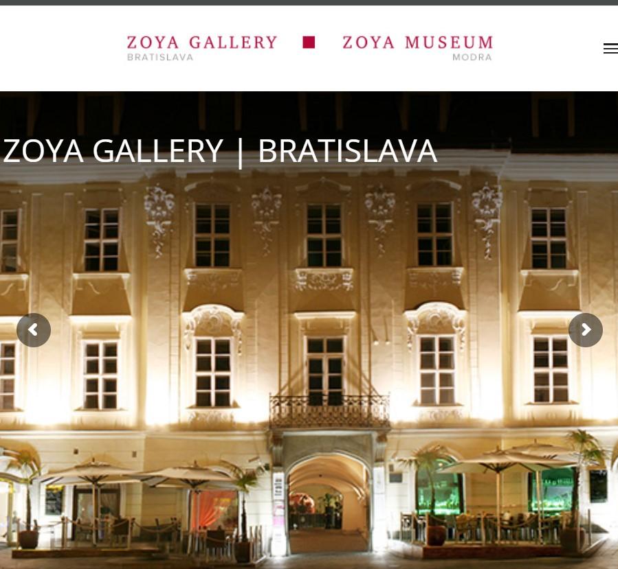 Tvorba webstránky pre galériu a múzeum v Bratislave a Modre