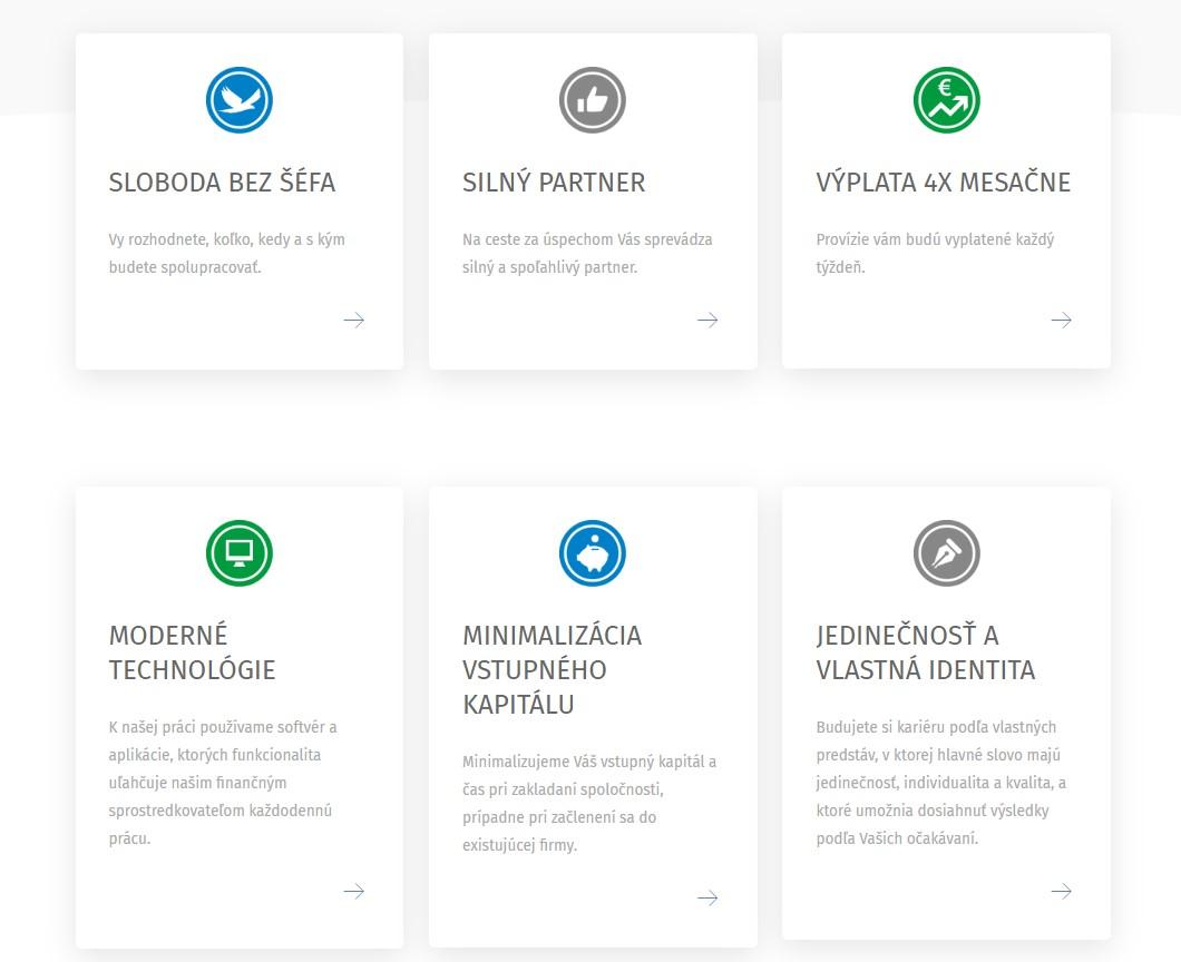 Vytvorenie webstránky ZBAVSASEFA.sk, Finportal