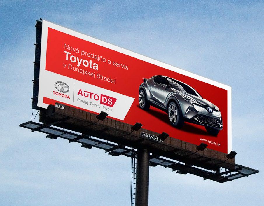 Webstránka a dizajn manuál AUTO DS_TOYOTA