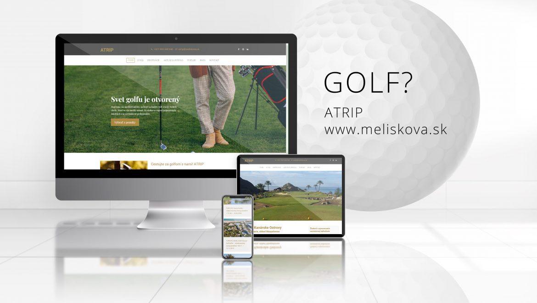 Webstránka pre ATRIP - www.meliskova.sk